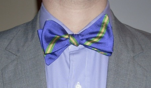 Bow Tie Project, Tie, Day 1