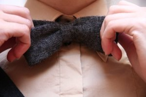 Alpaca Bow Tie, by Alexander Olch