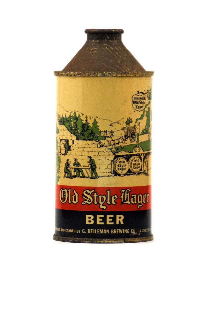 Beer can vintage